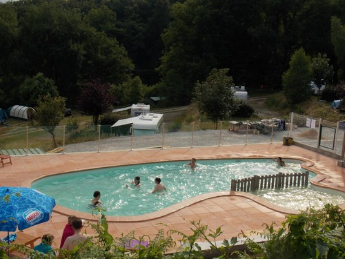 Camping Fougeraie (Nièvre,Morvan) : Swimming-pool